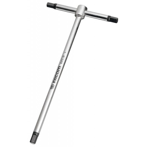FACOM PROFESSIONAL 3MM METRIC CHROME TEE HANDLE HEXAGON ALLEN KEY 84TC.3