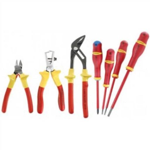 FACOM - 1000V INUSULATED PLIER & SCREWDRIVER SET - VE.2PB