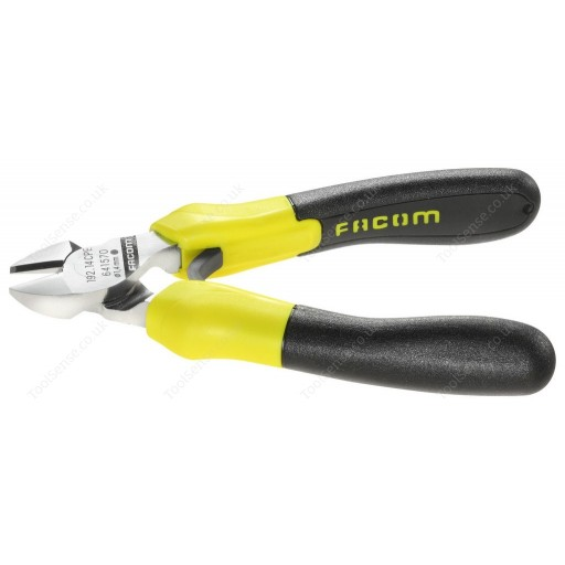 FACOM 192.20CPEF FLUORESCENT TOOLS DIAGONAL CUTTING PLIERS-JAW CAPACITY 2.0MM