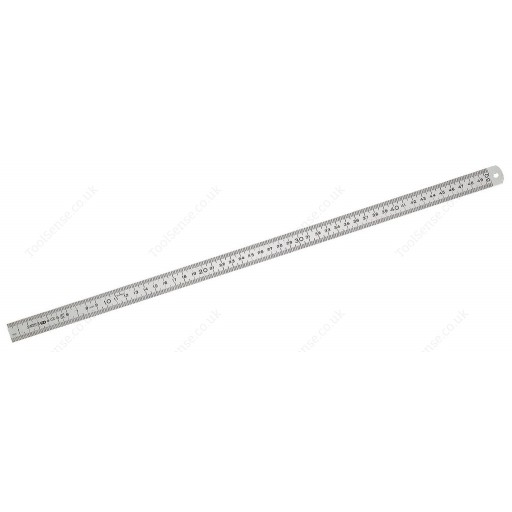 FACOM 803.200M FLEXIBLE STAINLESS 2-SIDED RULE - 200MM