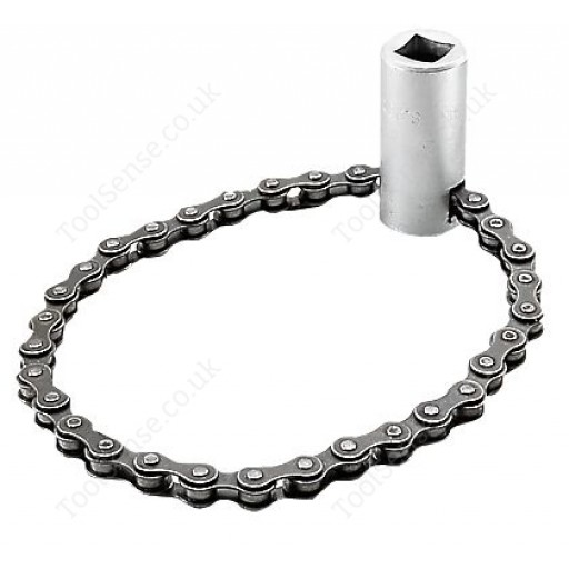 """FACOM D.149 1/2"""" DRIVE CHAIN WRENCH FOR FILTERS 50 - 110MM DIAMETER"""