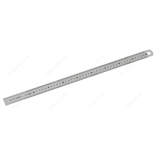 FACOM DELA.1061.04 SEMI-RIGID DURALUMIN 1 SIDED RULE - 1500MM LONG