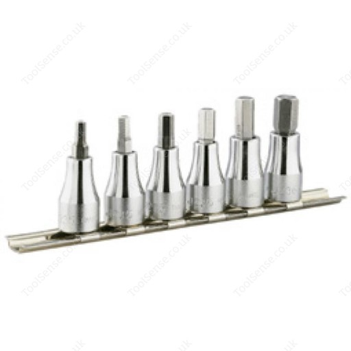 "FACOM JT.40 3/8"" DRIVE 6 PIECE SET OF BIT SOCKETS"