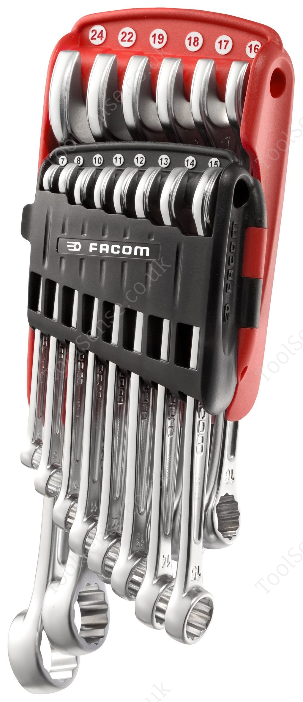 facom 440 jp14 440 metric offset combination wrench sets in portable case. Black Bedroom Furniture Sets. Home Design Ideas