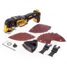 DeWalt DCS355N-XJ - 18V XR Brushless Oscillating Tool Bare Unit with 29 Accessories