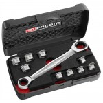 FACOM - 11 IN 1 RATCHETING WRENCH - 464.J1PB |