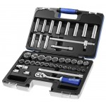 "BRITOOL EXPERT 42 PIECE 1/2"" METRIC SOCKET SET E032908B"