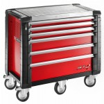 FACOM - 6 DRAWER RED ROLL CAB - JET.6M5