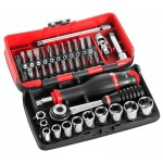"FACOM R2NANO - 1/4"" DRIVE 6 POINT SOCKET SET 