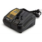 DeWALT DCB115 Battery Charger.  Works with 10.8V, 14.4V & 18V XR LI-ION Batteries - EU Plug |