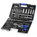 "BRITOOL EXPERT 98 PIECE 1/4"" - 1/2"" SOCKET SET E034805B"