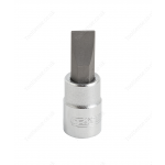 "BRITOOL EXPERT E030109B 1/4"" SLOTTED-HEAD SCREWDRIVER BIT SOCKET 4MM"