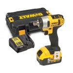 DeWalt DCF880P1-GB - XR Compact Impact Wrench 18 Volt with 1 x 5.0ah Li-Ion Battery, charger and case |