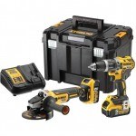 DeWalt DCK2080P2T XR Brushless 2 Speed Twin Kit 18V 2 x 5.0Ah Li-ion |