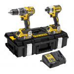 DeWalt DCK266P2-GB - XR 18V Brushless IA Kit DS150 - 5.0Ah (Combi + Impact) |