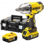 DeWalt DCF899HP2-GB XR 18v Brushless 3 Speed High Torque Hog Ring Impact Wrench with 2 x 5ah Batteries & Carry Case |