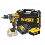 DEWALT DCD796P1 - XR Brushless Compact Lithium-Ion Combi Drill, 18v ]