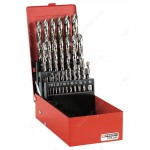 FACOM 222A.TJ25 25 PIECE HSS GROUND DRILL SET 1-13MM