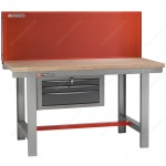FACOM 2245.PVAT3 1.5M LONG WORKBENCH WITH PERFORATED PANEL
