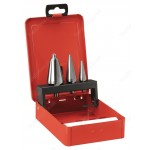 FACOM 229A.J3 3 PIECE REAMING BIT SET 3 TO 30.5MM