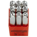 FACOM 293A.4 293A - SET OF 9 DIGIT PUNCHES