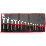FACOM 39.JU14T - 39 SERIES SHORT COMBINATION SPANNER WRENCH SET 1/8-11/16 AF.