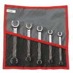 FACOM 43.JE5T 5 PIECE FLANGED FLARE NUT WRENCH SET.