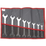 FACOM 44.JE8T 8 PIECE OPEN END WRENCH SET 8 X 9 - 22 X 24MM
