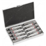 FACOM AE.J1 MICROTECH 8 PIECE SCREWDRIVER SET SLOTTED ( FLAT / FLATHEAD / SLOT ) HEAD & PHILLIPS