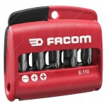 FACOM E.110 11 PIECE HIGH PERFORMANCE MIXED SCREWDRIVER BIT SET |