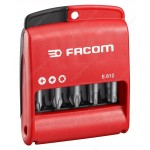 "FACOM E.611 SET OF 10 BITS 1/4"" - 50 MM"