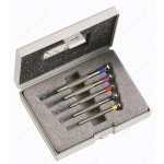 FACOM HB.1B 5 PIECE WATCHMAKERS SCREWDRIVER SET - SLOTTED ( FLAT / FLATHEAD / SLOT ) HEAD HEADS