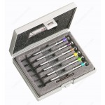 FACOM HB.2B 6 PIECE PHILLIPS & HEXAGONAL ( HEX / HEXAGON ) WATCHMAKERS SCREWDRIVER SET