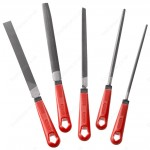 "FACOM LIM200EM.J5 - 5 PIECE 2ND CUT FILE SET 200MM (8"") LONG WITH FITTED HANDLES"