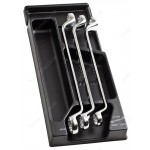 FACOM MOD.55-2 3 PIECE LARGE RING WRENCH SET. 21 TO 28MM