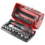 "FACOM RL.NANO-U112 1/4"" DRIVE SOCKET AND BIT SET"