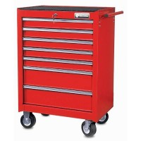 BRITOOL-EXPERT UK CLASSIC ROLLER CABINET 7 DRAWER - RED BRCR7