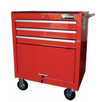 BRITOOL EXPERT E010137B CLASSIC ROLLER CABINET 3 DRAWER - RED