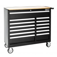 BRITOOL EXPERT E010147B WIDE CLASSIC ROLLER CABINET 13 DRAWER - BLACK
