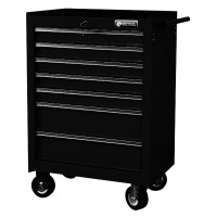 BRITOOL EXPERT E010143B CLASSIC ROLLER CABINET 7 DRAWER - BLACK