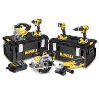 DeWalt DCK691M3 Cordless 2 Speed 6 Piece Kit 18V 3 x 4.0Ah Li-ion |