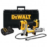 DeWalt DCGG571M1-GB - 18V XR Li-Ion Grease Gun 1 x 4.0Ah Battery, Charger & Kitbox |