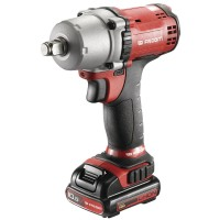 "Facom CL3.C10S - 1/2"" Drive 10.8V Cordless Impact Wrench Kit (2 X 1.5Ah Batteries, Charger, Case)"