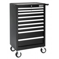 BRITOOL EXPERT E010145B CLASSIC ROLLER CABINET 11 DRAWER - BLACK