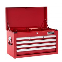 BRITOOL-EXPERT E010212B CLASSIC TOOL CHEST 6 DRAWER - RED