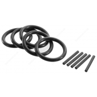 "BRITOOL EXPERT E117881B SET OF 5 RINGS/BUSHES FOR 1/2"" IMPACT SOCKETS 8-14MM"