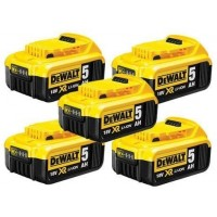 DEWALT DCB184 18V XR 5ah Slide Battery Five Pack |