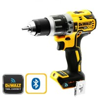 DeWalt DCD797N - 18V Brushless Hammer Drill with Blutooth - Bare Unit