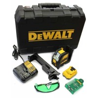 DeWalt DCE088D1G-GB - Cross Line Laser - Green - 1