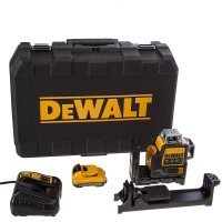 DeWalt DCE089D1G-GB - Multi Line Laser - Green - 2.0Ah - 10.8v Battery System